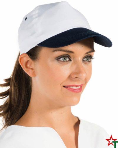 Двуцветна промо шапка