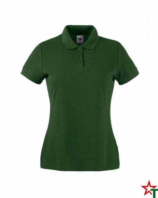 Bottle Green Дамска тениска Lady POLO Mix