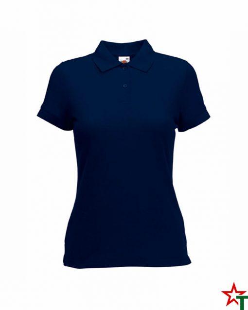 Deep Navy Дамска тениска Lady POLO Mix
