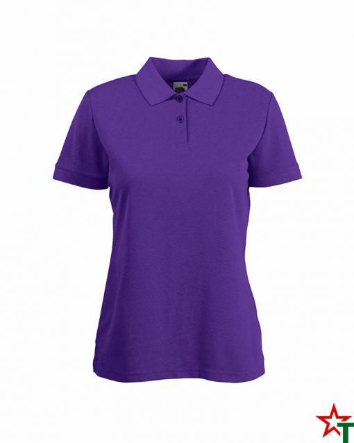 Purple Дамска тениска Lady POLO Mix