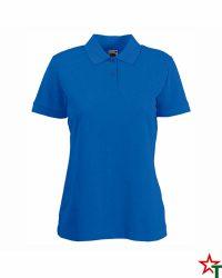 Royal Blue Дамска тениска Lady POLO Mix