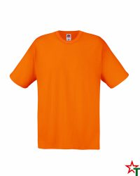 Orange Мъжка тениска Fruit of the Loom