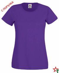 Purple Дамска тениска Cotton light