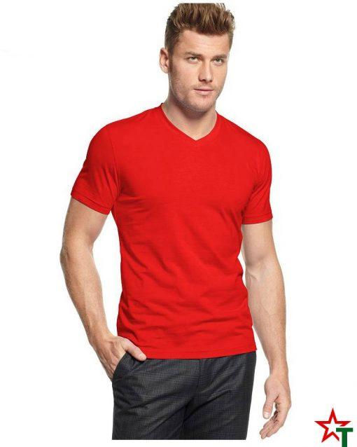 Мъжка тениска с V neck