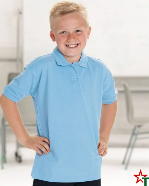 Детска POLO тениска с якичка