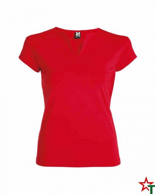 Червена Дамска тениска Lucia
