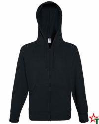Black Мъжки суитчър Light Hooded
