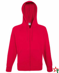 Red Мъжки суитчър Light Hooded
