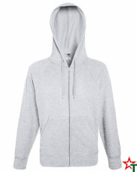 Heather Grey Мъжки суитчър Light Hooded