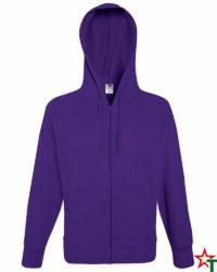 Purple Мъжки суитчър Light Hooded
