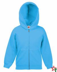 Azure Blue Детски суитчър Classic Hooded