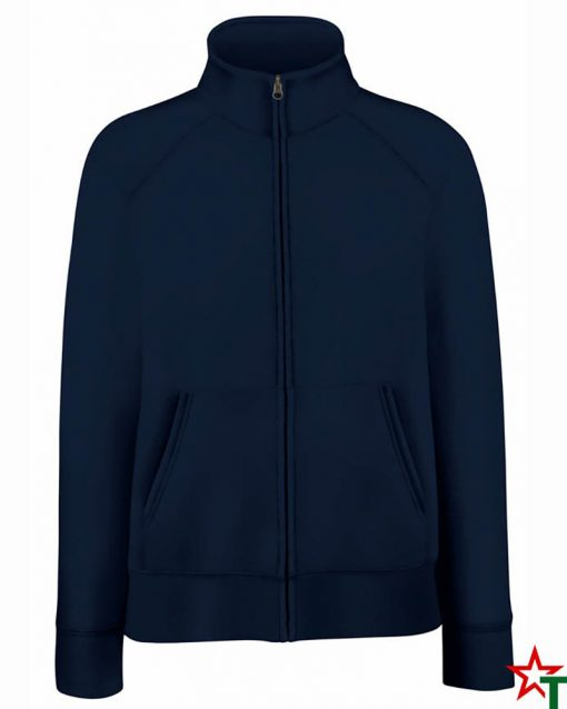 Deep Navy Дамска ватена блуза Premium