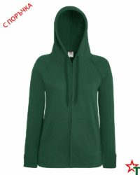 Bottle Green Дамски суитчър Lady Light Hooded