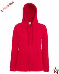 Red Дамски суитчър Lady Light Hooded
