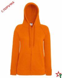 Orange Дамски суитчър Lady Light Hooded