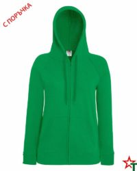 Kelly Green Дамски суитчър Lady Light Hooded