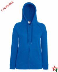 Royal Blue Дамски суитчър Lady Light Hooded