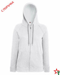 Heather Grey Дамски суитчър Lady Light Hooded