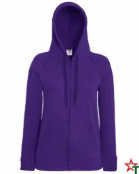 Purple Дамски суитчър Lady Light Hooded