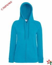 Azure Blue Дамски суитчър Lady Light Hooded