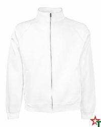 White Мъжка блуза Premium Jacket