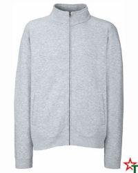 Heather Gray Мъжка блуза Premium Jacket