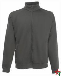 Light Graphite Мъжка блуза Premium Jacket