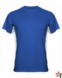 Royal Blue White Мъжка тениска Travis