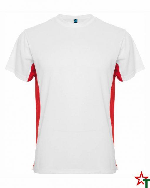 White-Red Мъжка тениска Travis