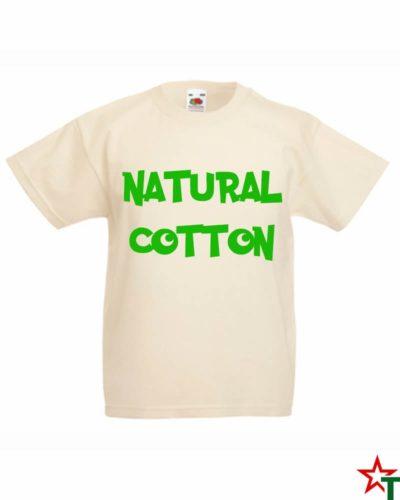 Детска тениска натурален памук