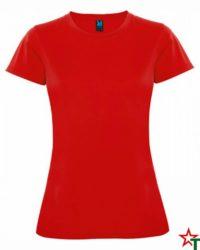 Red Дамска спортна тениска Trinity