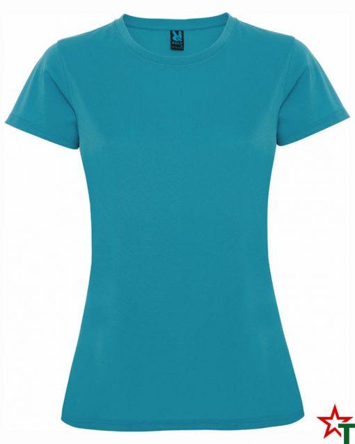 Azure Blue Дамска спортна тениска Trinity
