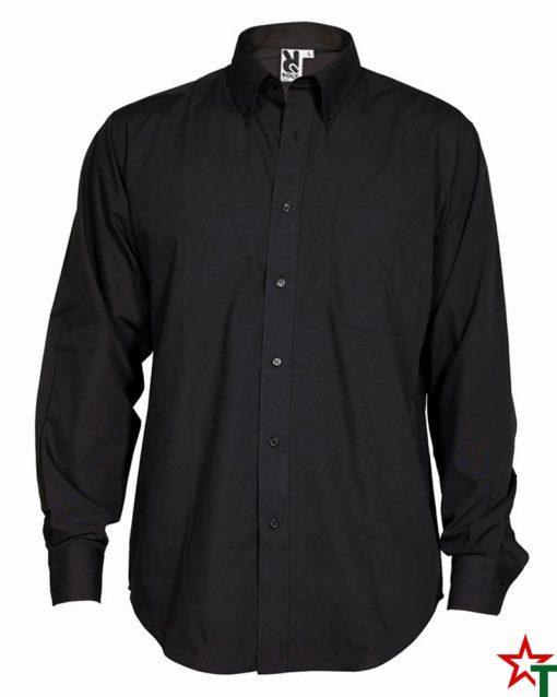 Black Мъжка риза Ian