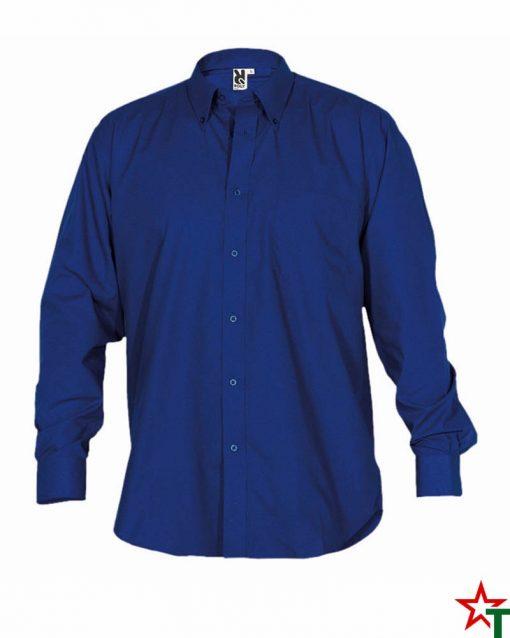 Royal Blue Мъжка риза Ian