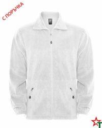 White Мъжко поларено яке Tyler