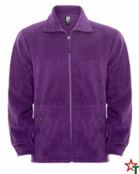 Purple Мъжко поларено яке Tyler