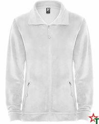 White Дамско поларено яке Samantha