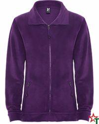 Purple Дамско поларено яке Samantha