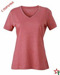 Red Melange Дамска тениска Alexis