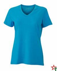 Turquoise Melange Дамска тениска Alexis