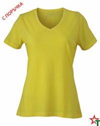 Yellow Melange Дамска тениска Alexis