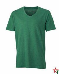 Green Melange Мъжка тениска Ryan