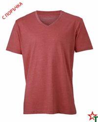 Red Melannge Мъжка тениска Ryan