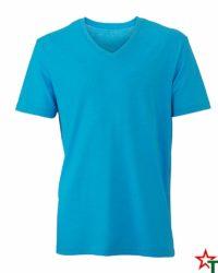 Turquoise Melange Мъжка тениска Ryan