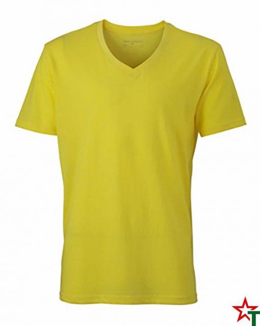 Yellow Melange Мъжка тениска Ryan