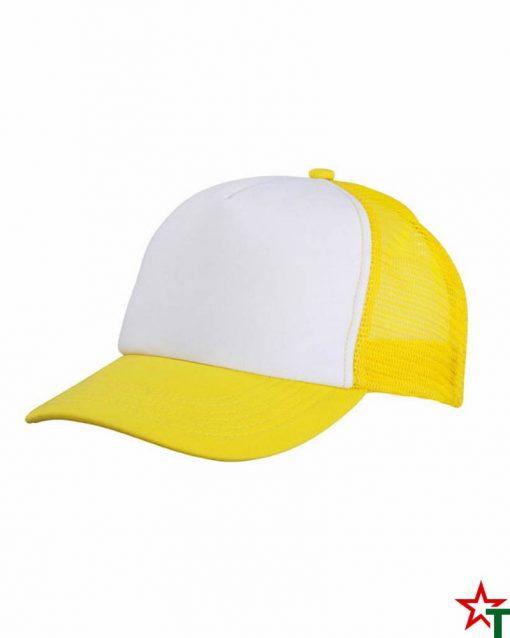 White-Yellow Детска шапка Poly