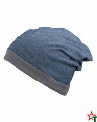 Blue-Melange-Grey Лятна шапка Rops