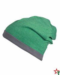 Green-Melange-Grey Лятна шапка Rops