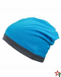 Turqouise-Melange-Grey Лятна шапка Rops