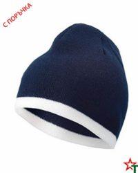 Deepnavy-White Зимна шапка Noel